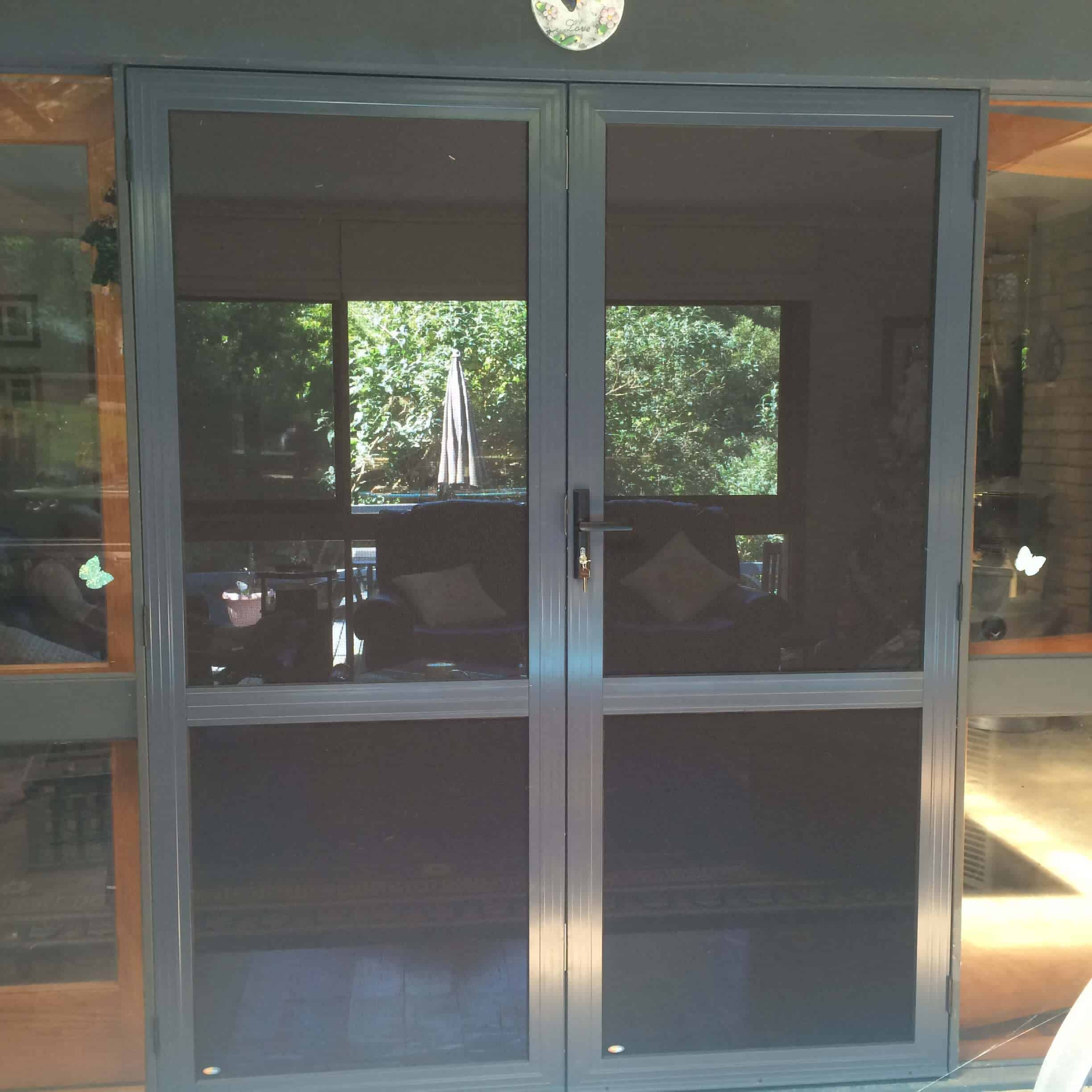 Crimsafe Regular Double Security Door Crimsafe Melbourne