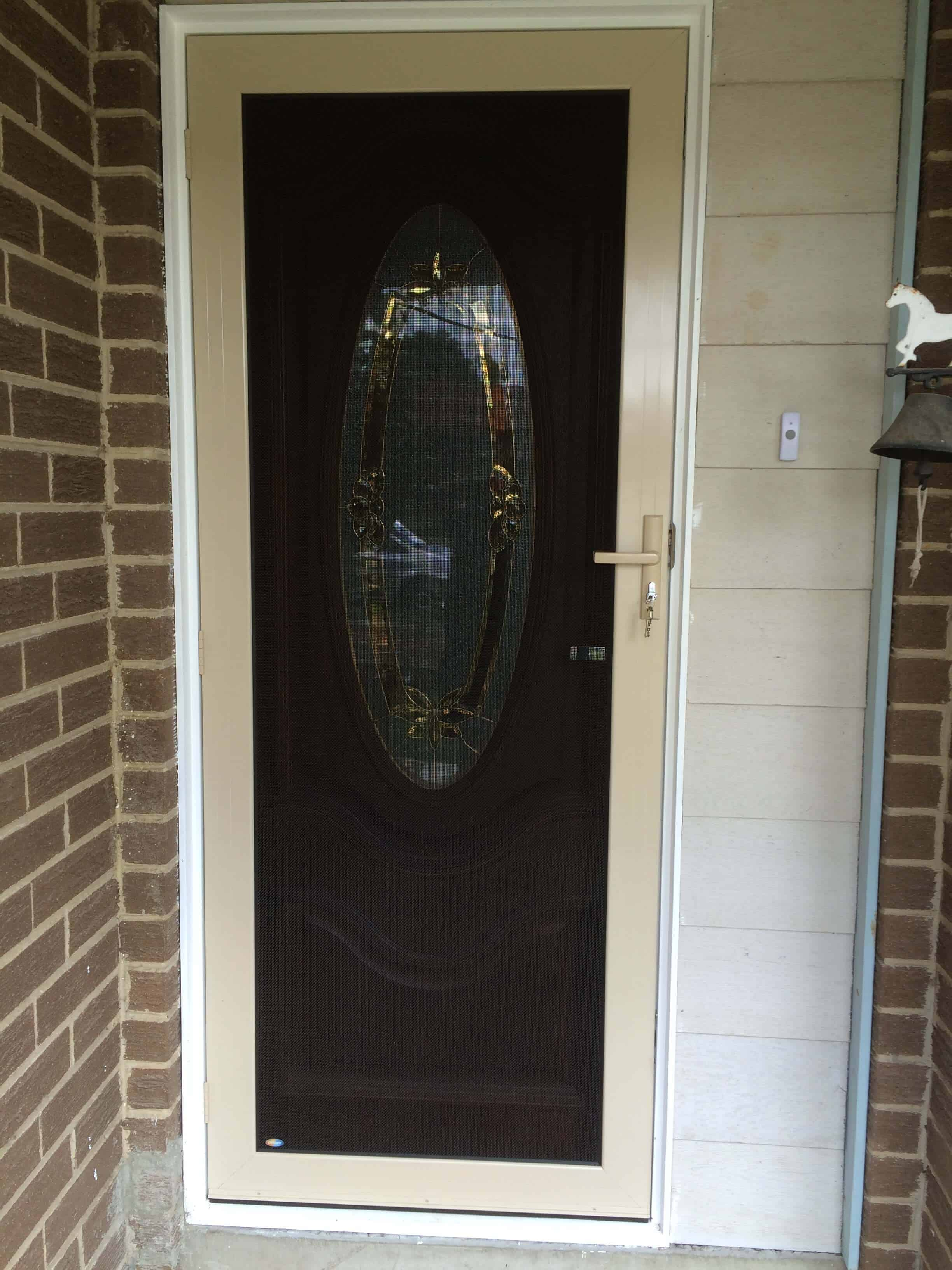 Crimsafe Ultimate Single Security Door Crimsafe