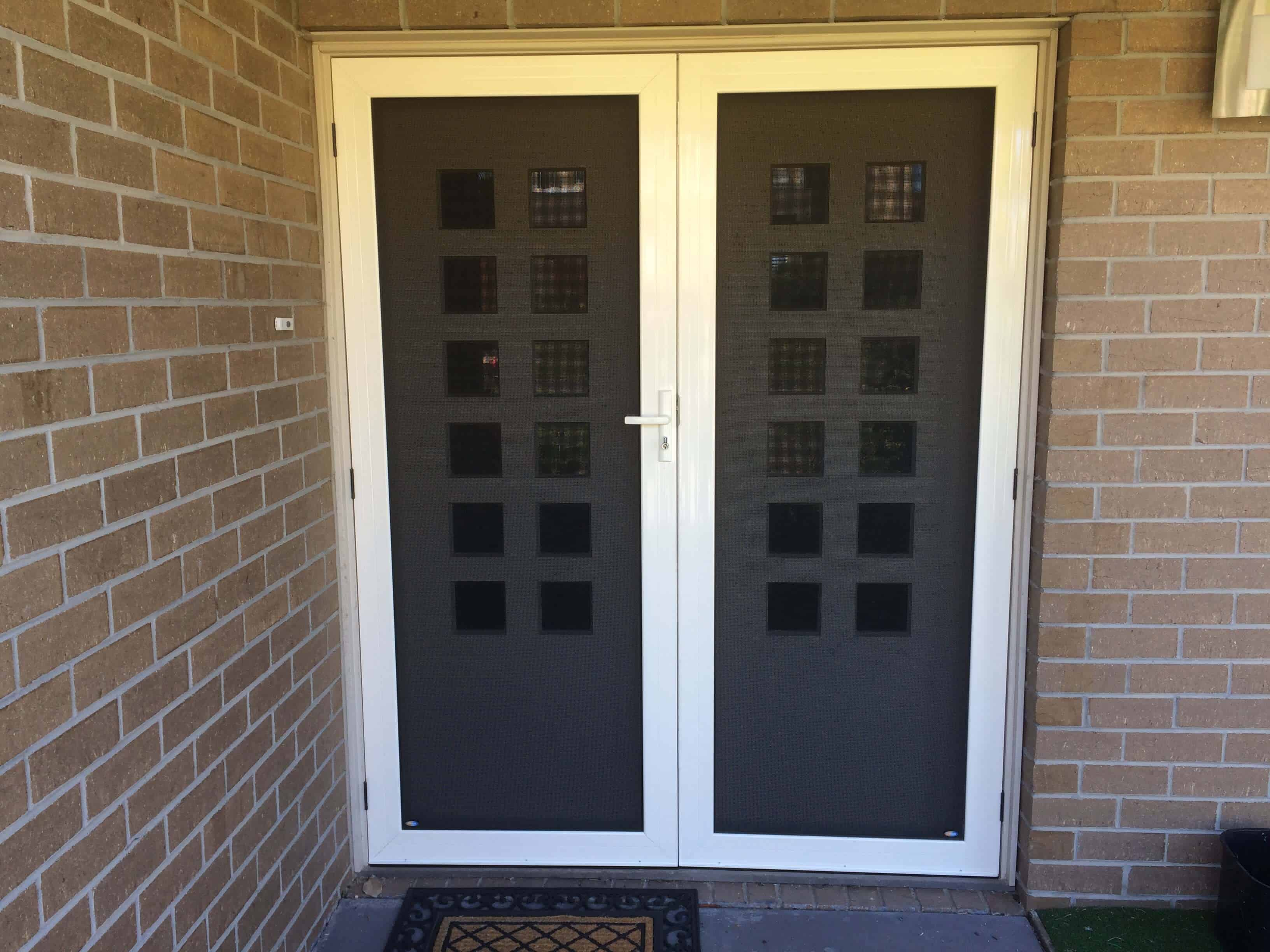 Ordinaire Crimsafe Ultimate Double Security Door | Crimsafe Melbourne   The Superior  Door Company