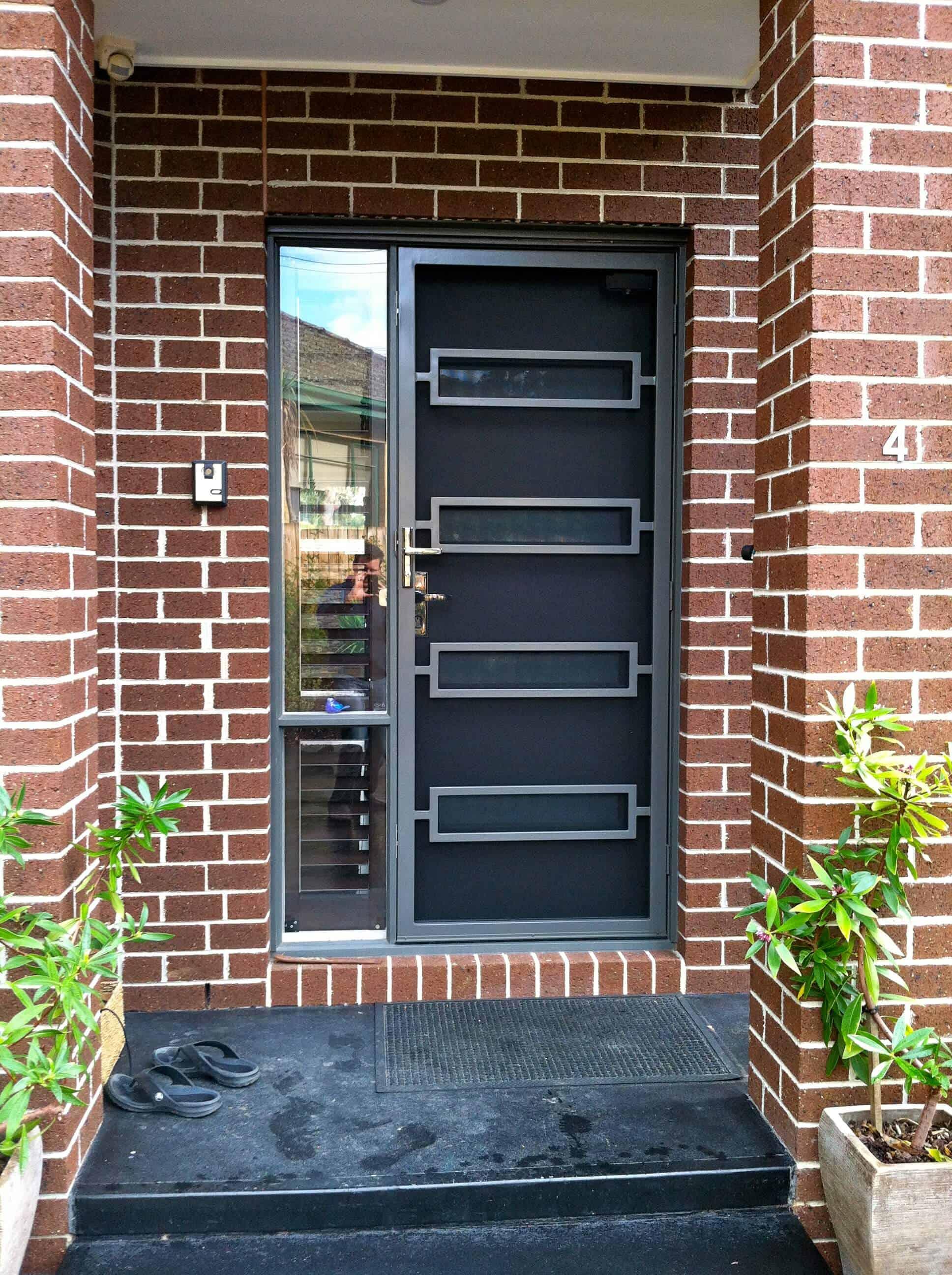 Ned Kelly Model Security Door & Ned Kelly | Steel Doors Melbourne - The Superior Door Company