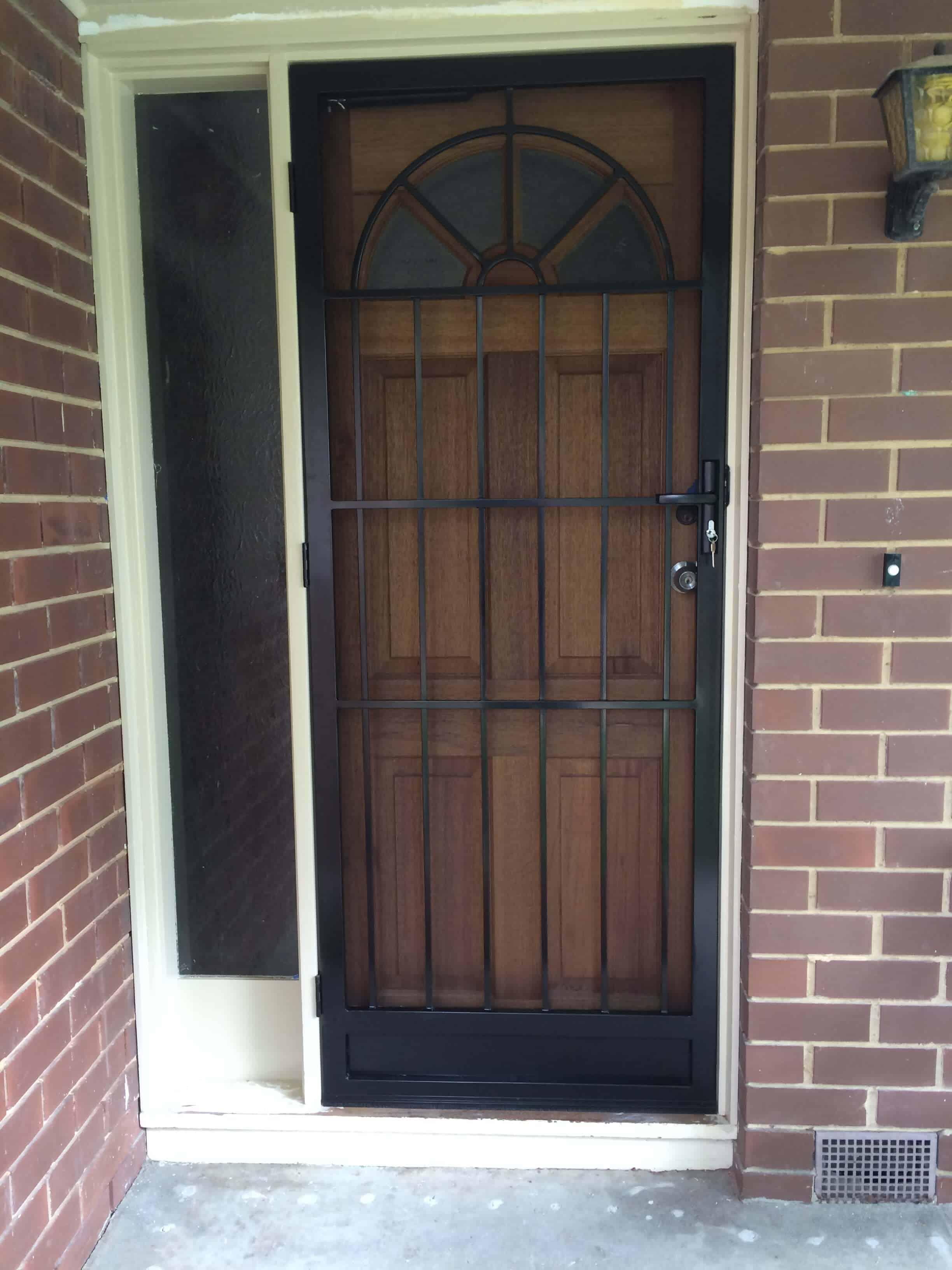 Doncaster Classic Style Security Door | Steel Doors ...